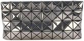 Bao Bao Issey Miyake geometric structure zipped clutch - women - PVC - One Size