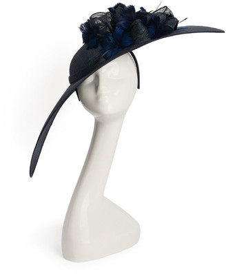 Nigel Rayment Feather-Embellished Bow Fascinator No. 11