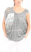 Yigal Azrouel Printed VJ Top