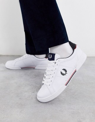 Fred Perry B722 leather sneakers in white