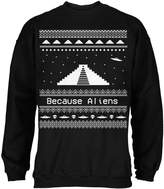 Old Glory Ancient Aliens Ugly Christmas Sweater Adult Sweatshirt