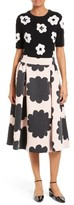 Kate Spade Women's Embellished Floral Intarsia Sweater