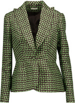 DELPOZO Printed cotton blazer