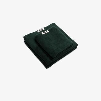 Tekla Green Organic Cotton Towel Set