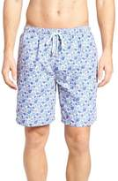 Peter Millar Shelly Turtle Print Swim Shorts