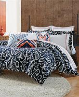 Trina Turk Indigo Ikat Queen Comforter Set