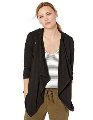 Cable Stitch Women's Hooded Wrap Cardigan