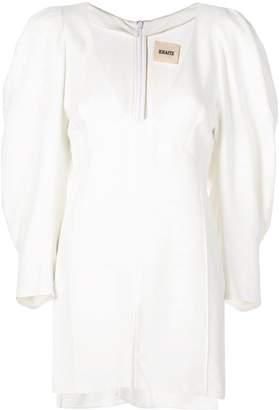 KHAITE side slit blouse