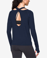 Under Armour Open-Back Yoga Top