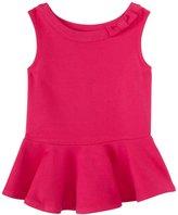 Kate Spade Peplum Top (Toddler/Kid) - Sweetheart Pink-6