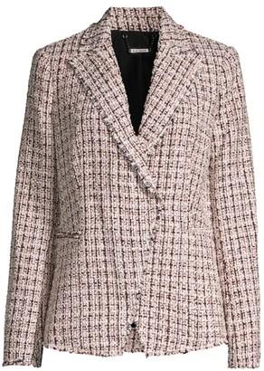 Elie Tahari Jezebel Tweed Jacket