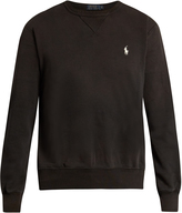 Polo Ralph Lauren Crew-neck cotton-blend sweatshirt