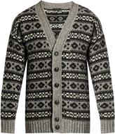 Marc Jacobs Oversized Icelandic-knit cardigan