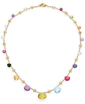 Marco Bicego Paradise Semi-Precious Multi-Stone & 18K Yellow Gold Necklace