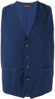 Barena houndstooth check waistcoat - men - Cotton/Spandex/Elastane - 52