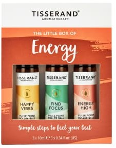 Tisserand Aromatherapy The Little Box Of Energy 3 X 10Ml