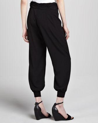 PJK Barlow Smock-Cuff Pants