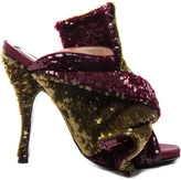 No.21 No. 21 Sequin Embellished Bow Mules