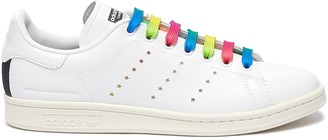 Stella McCartney x Air Originals Stan Smith rainbow laces sneakers