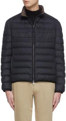 Brioni Quilt puff lightweight jacket