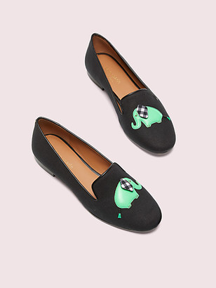 Kate Spade Lounge Elephant Loafers