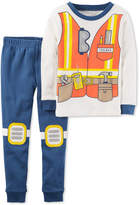 Carter's 2-Pc. Construction Cotton Pajama Set, Toddler Boys (2T-5T)