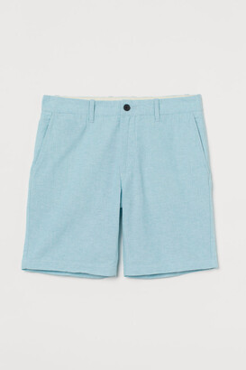 H&M Chino Shorts - Turquoise