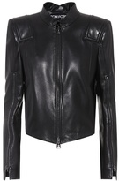 Tom Ford Cropped leather jacket