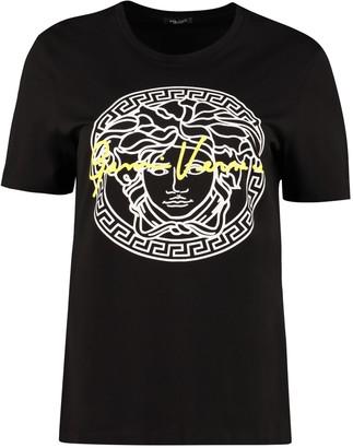 Versace Cotton Crew-neck T-shirt