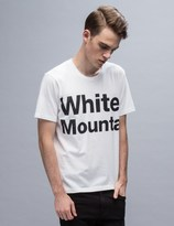 """White Mountaineering White Mountai"""" Printed S/S T-Shirt"""