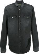 Amen denim shirt - men - Cotton/Spandex/Elastane - 50