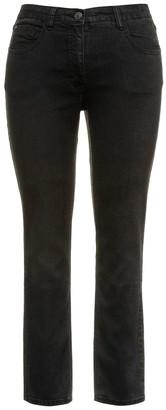"Ulla Popken Skinny Jeans, Length 31.5"""