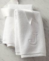 Matouk Auberge Monogrammed Fingertip Towel