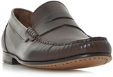 Bertie Primus Leather Penny Loafers, Brown