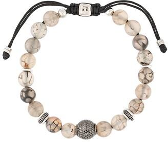 Tateossian Macrame Stratus bracelet
