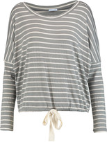 Eberjey Striped jersey pajama top