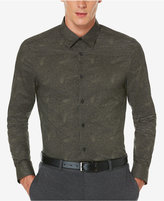Perry Ellis Men's Big & Tall Exclusive Gothic Paisley Print Shirt