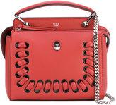 Fendi macro-weave Dotcom tote - women - Leather - One Size