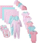 Gerber Baby-Girls Newborn 19 Piece Newborn Essentials Gift Set