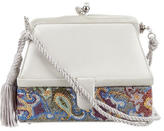 Judith Leiber Satin & Crystal-Embellished Evening Bag