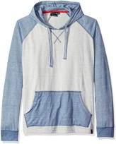 Burnside Men's Boardwalk Long Sleeve Knit Fashion Hoody, Light Grey