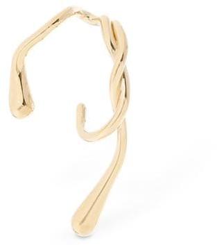 ANNE MANNS Eila Gold Mono Earring