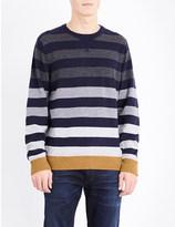 Tommy Hilfiger Brian striped knitted jumper