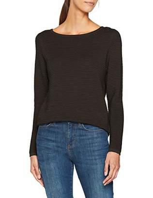 Melange Home ONLY NOS Women's Onlanna L/s Pullover KNT Jumper, Grey Melange, 32R (Size: )