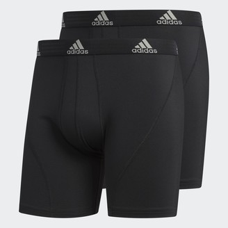 adidas Climalite Big and Tall Boxer Briefs 2 Pairs