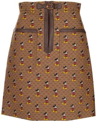 Gucci X Disney GG Mickey Mouse Skirt
