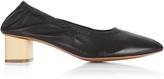 Robert Clergerie Pixie block heel leather ballet pumps
