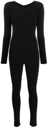 Alchemy zip-up fitted cat suit