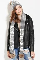 Forever 21 Scarf and Beanie Set