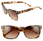 Tory Burch Women's 54Mm Sunglasses - Black